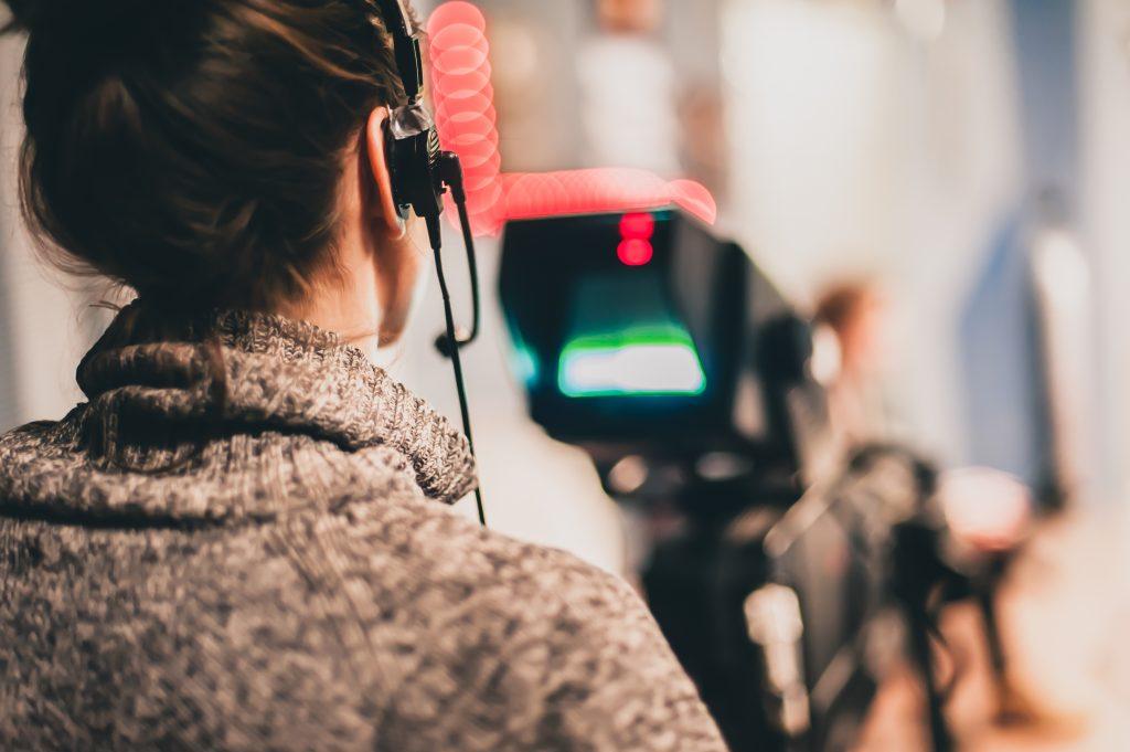 mulheres no cinema: por trás da câmera